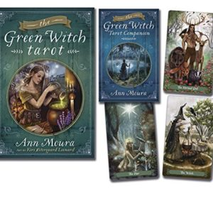Green Witch Tarot Cards Box Image