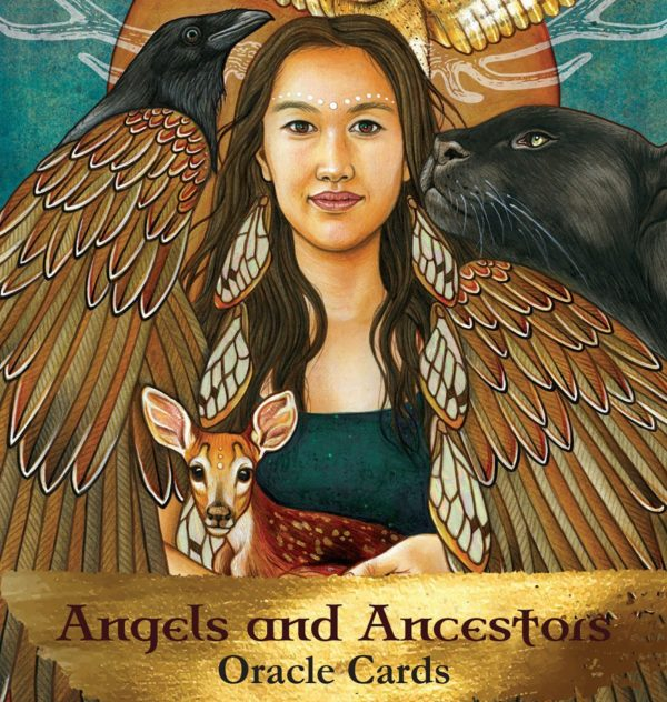 Angels and Ancestors Oracle Cards Box Image