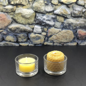Small Tea Light Glass Holder