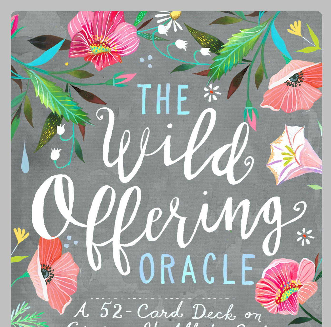 Wild Offering Oracle Cards