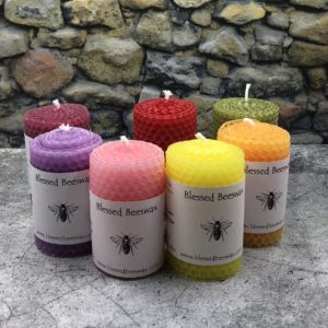 Hand Rolled Beeswax Votive Candles