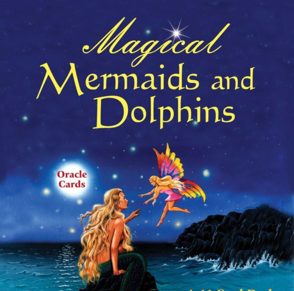 Magical Mermaids and Dolphins Oracle Cards Box Image