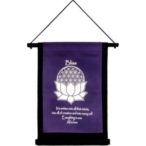 Bliss Decorative Cotton Mini Banner Wall Hanging