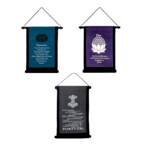 Decorative Cotton Mini Banners Wall Hanging